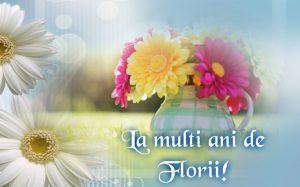 la multi ani de florii