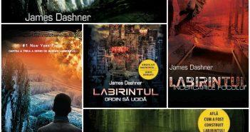 Seria Labirintul de James Dashner